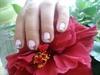 Uñas cortas decoradas .- small nails