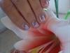 Flores uñas cortas - flowers small nails