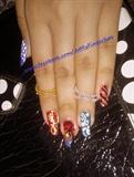 Multi themed nail art