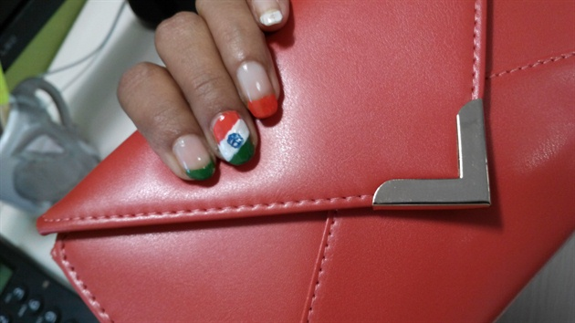 India's Independence day nails
