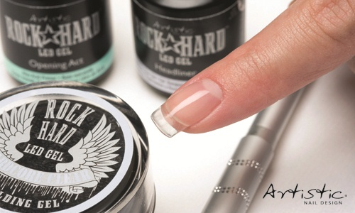 8 Steps Weak Brittle Nails Are Among A Techs Worst Nightmare Create Strong Tips And Banish Breakage For Good With The New Rock Hard Gel From Artistic