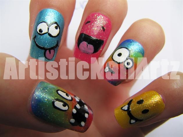 Crazy & Colourful smileys!