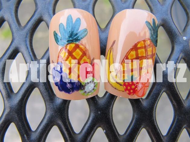 Fruit Nail Art!