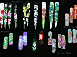 Arty Nails tip box