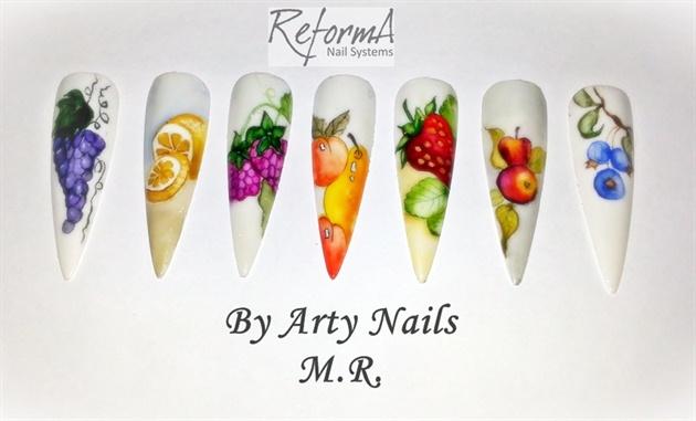 fruits Arty Nails