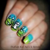 Owl Nailart