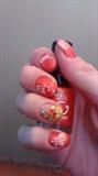 Orange Jewels Design