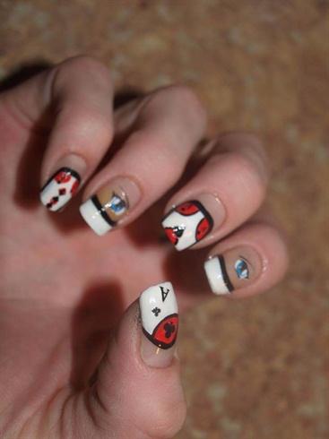 Poker Face Nails