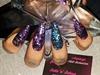 Purple Glitter Stilettos  xx
