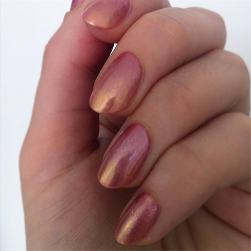 Pink and Gold Gradient