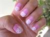 Half Moon Polka Valentine Nails:)