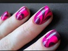 Hot Pink With Black