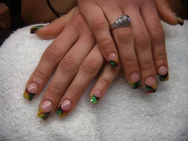 Acrylic nail designs rasta gallery for gt rasta acrylic nails acrylic nail designs rasta reggae nails nail art gallery prinsesfo Choice Image
