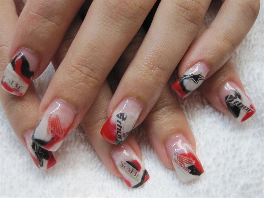 Racing Nails Nail Art Gallery