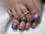 TWO TONED GEL TOES