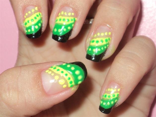 Jamaican Nail Design Nail Art Gallery