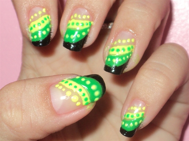 jamaican nail design - Jamaican Nail Design - Nail Art Gallery