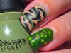 Veterans Day Camouflage Nail Art