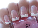 sparkly pink french