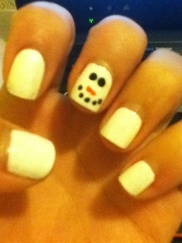 simple Snowman design(: