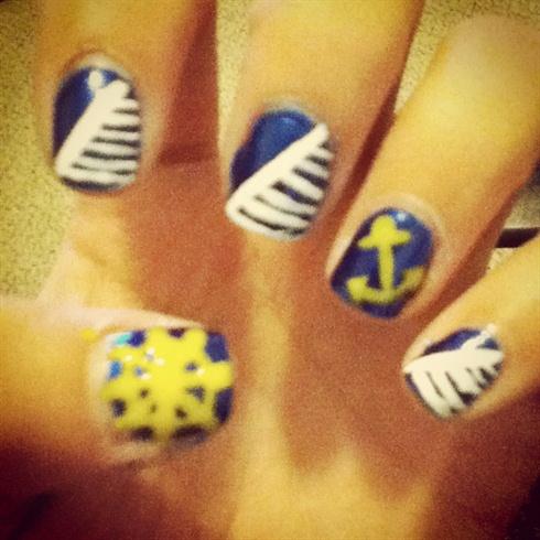 Sailor Nails(:
