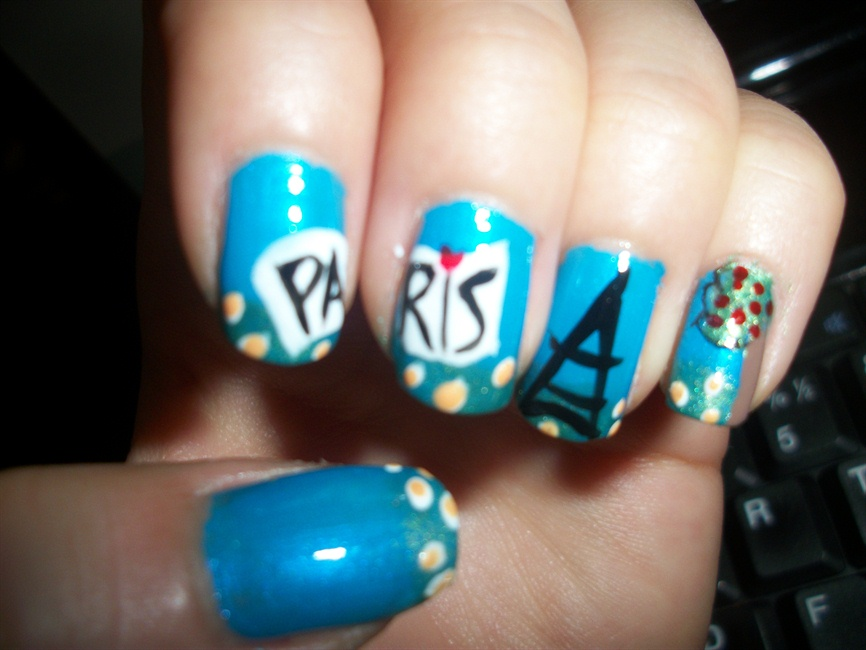 Paris nail art - Nail Art Gallery