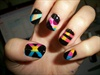 night nail art