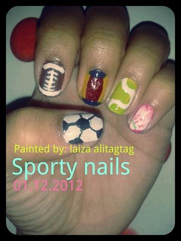 Sports Nails Nail Art Gallery