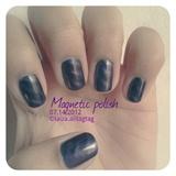 Magnetic polish