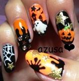 halloween nail❤