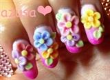 pastel flowers❤