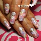 marbleized pastel gel❤