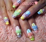 pastel bows❤
