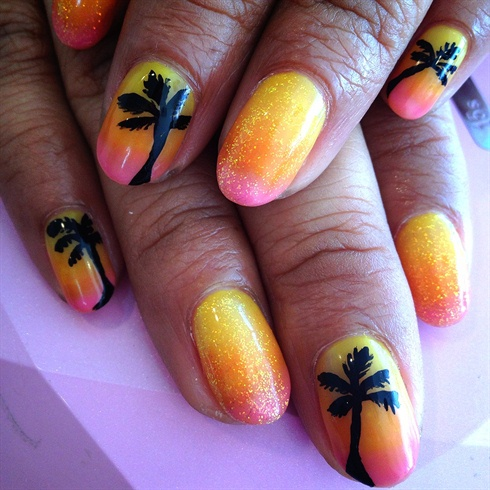 Hawaiian nail❤ - Hawaiian Nail❤ - Nail Art Gallery