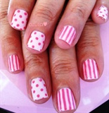 polka dots and stripe❤