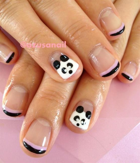 Panda Nail Art: Nail Art Gallery