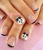panda nails❤