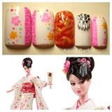 Japanese Barbie Nail