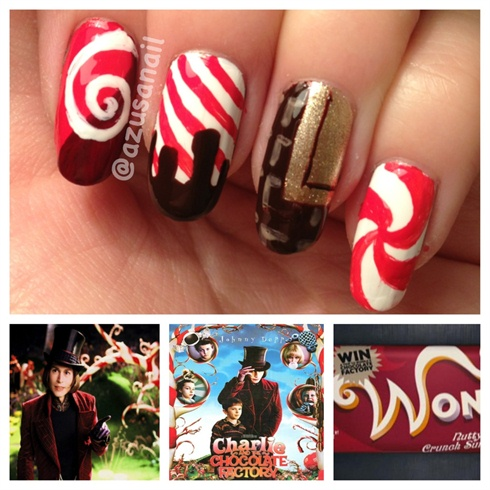 Charlie and the Chocolate Factory nail