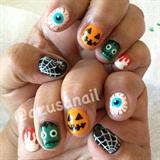 Halloween nails♡