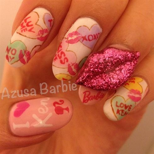 Sweetheart nails♡