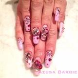 gorgeous pink stones♡