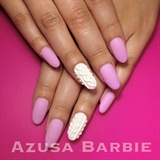 Knit texture nails