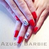 Valentine Mickey nails