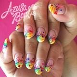 Rainbow Fun Nails