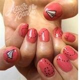 Paper Plane Nails