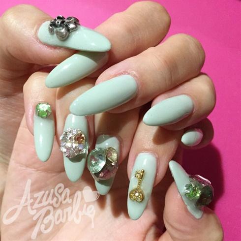 Mint Color Gel