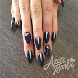 Triangles On Navy