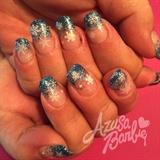 Snowflakes On Glitter