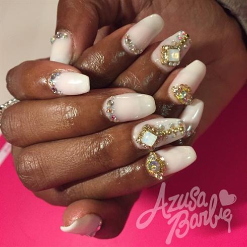 Sheer Whites With Diamonds